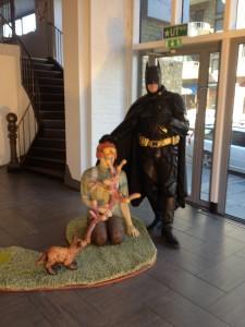 Batman från Superhjältar mot cancer